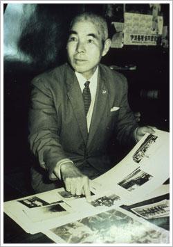 三浦弥平氏の写真